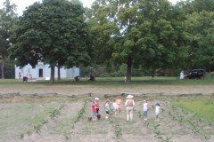 Kids in field
