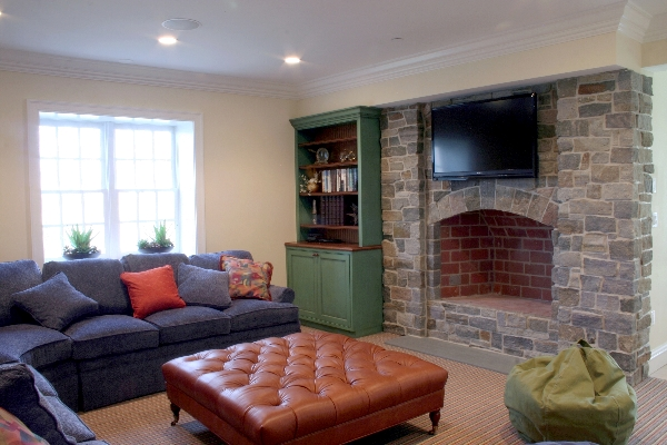 One incredible family basement the good stuff guide for Cool things to put in a basement