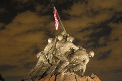 Iwo Jima Memorial, Washington D.C. by Ann Dayton