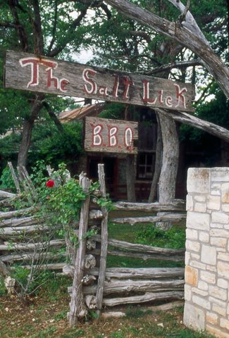 The Salt Lick bar b que