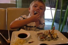 Sushi Date with my Boys...