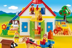 Playmobil 1.2.3 Large Farm (Giveaway)