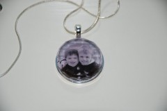 Gorgeous Gift Idea: Custom Photo Necklaces...