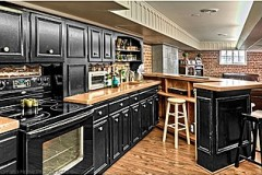 Omaha basement kitchen