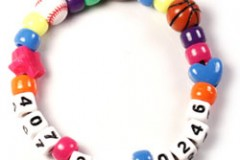 Bright Idea- Phone Number Bracelet