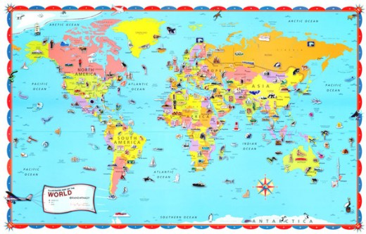 Geography The Good Stuff Guide - Geography map for kids
