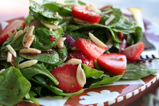 Spinach and Strawberry Salad | The Good Stuff Guide