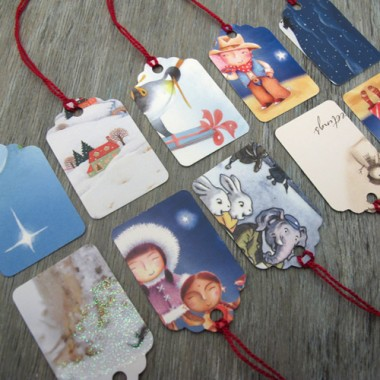 http://www.thegoodstuffguide.com/upcycling-christmas-cards/