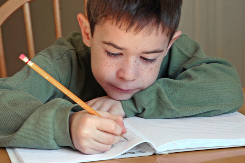 helping kids with writing