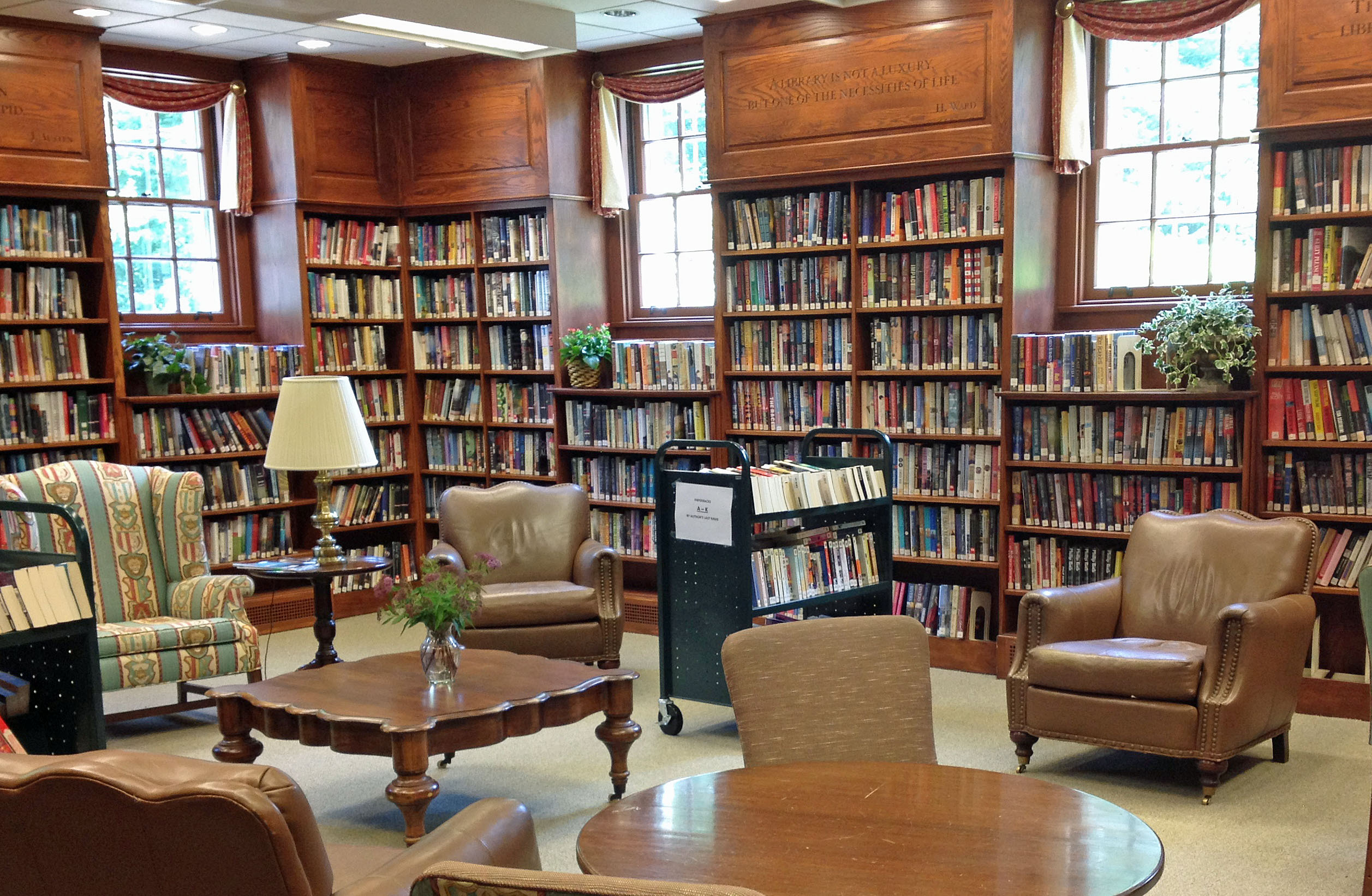 reading room perrot memorial library old greenwich ct the good stuff guide. Black Bedroom Furniture Sets. Home Design Ideas