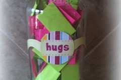 hugs jar for sisterly love