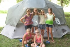 11 morgan friends tent
