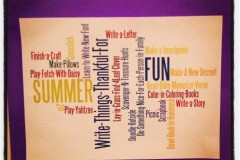Summertime Fun the Wordle Way