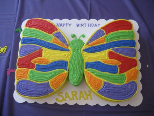 Most Amazing Butterfly Birthday Cakes